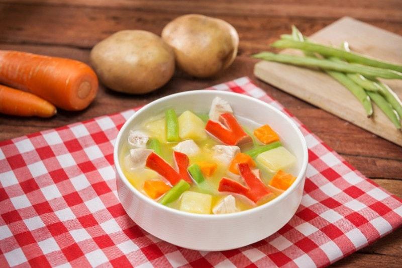 Sup Komplit Dengan Sayuran