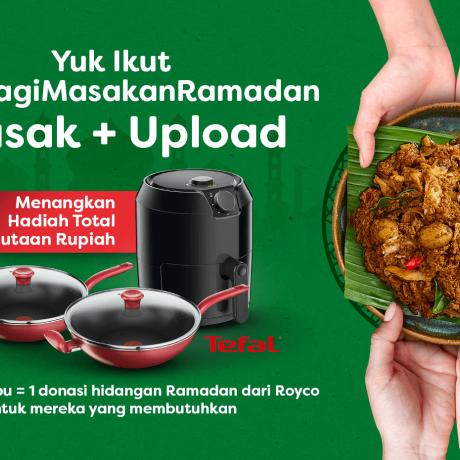 masak upload untuk berbagi masakan ramadan