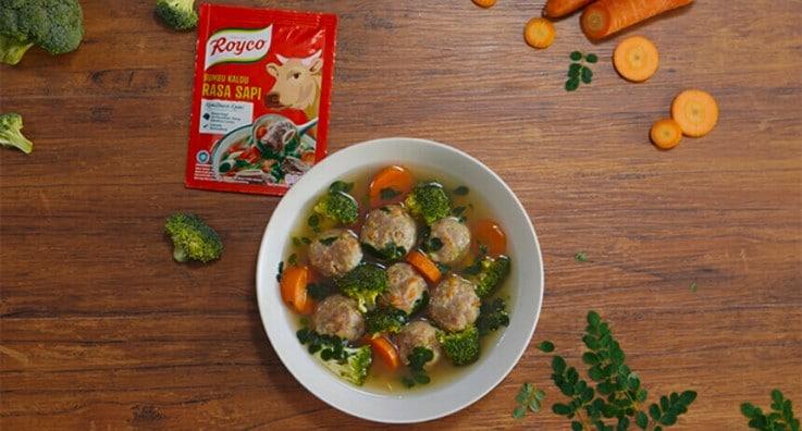 bakso sayur royco